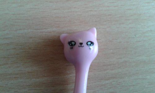 Ручки с кошачьими головами с Алиэкспресс