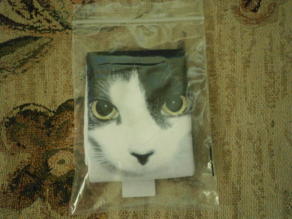Носки с кошкой с Алиэкспресс