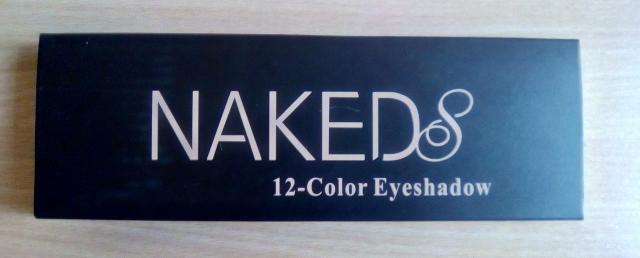 Тени Nakeds с шиммером с Алиэкспресс