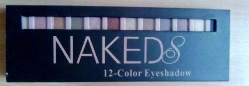 Тени Naked 8 с шиммером с Алиэкспресс