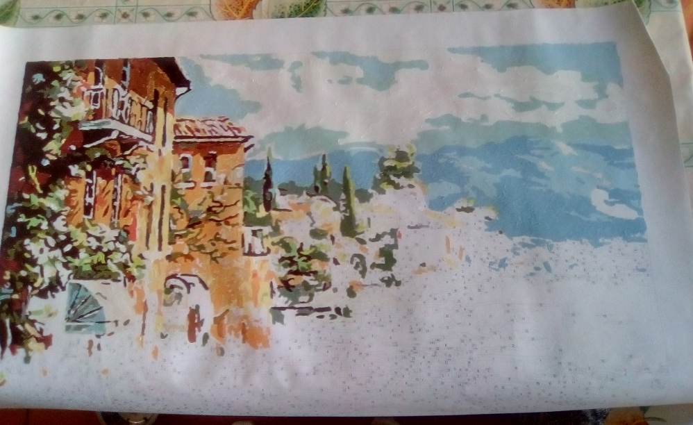 Картина по номерам с Алиэспресс