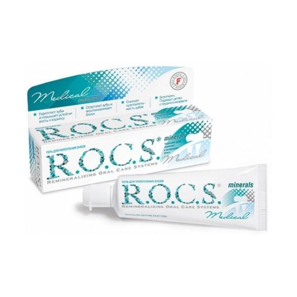 Реминерализирующий гель Rocs Medical Minerals: отзыв и опыт применения