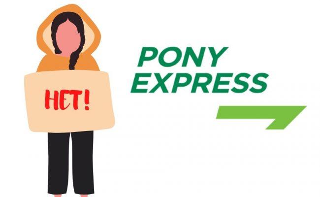 Хромой пони, который едва дотащил мою посылку – никогда не связывайтесь с Пони Экспресс!